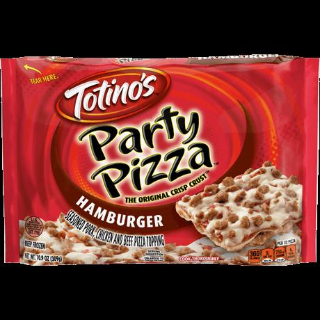 Hamburger Party Pizza