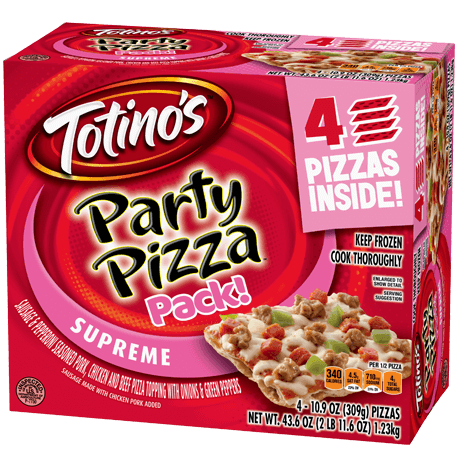 Supreme Party Pizza Pack