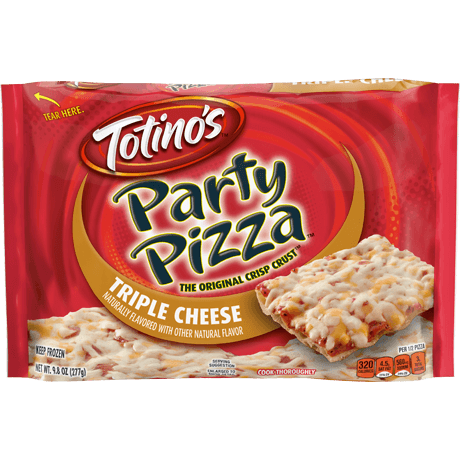 Triple Cheese Party Pizza