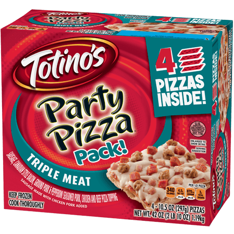Triple Meat Party Pizza Pack