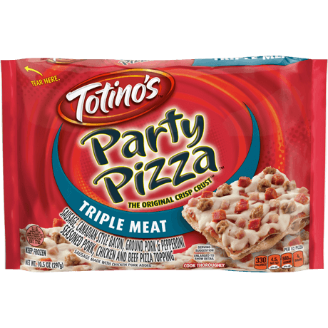 Triple Meat Party Pizza