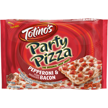 Pepperoni & Bacon Party Pizza