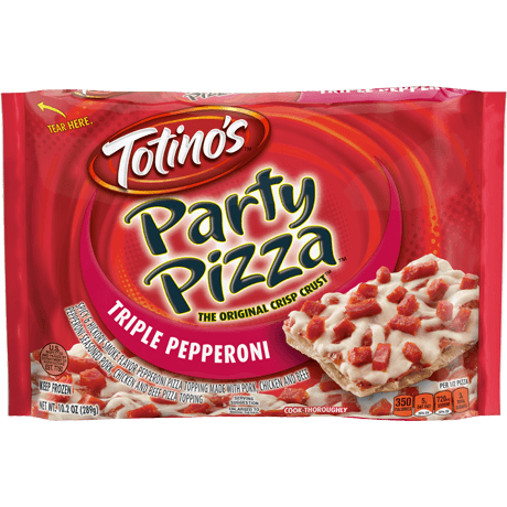 Triple Pepperoni Party Pizza