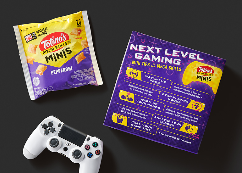 Game controller and Totino's snacks